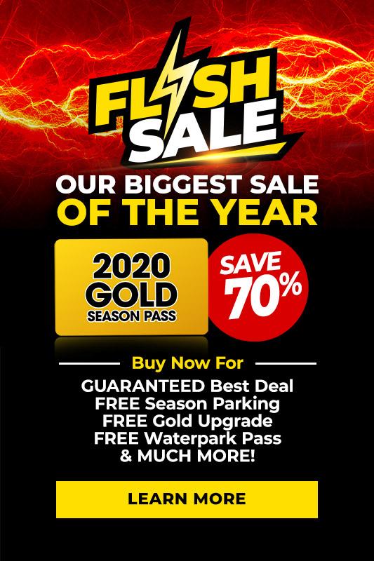 Flash Sale Season Passes & Memberships | Six Flags Magic